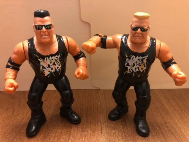 Nasty Boys Tag Team WWE WCW WWF Wrestling Action Figure 1 of 2 Supplied