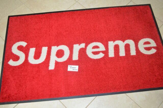 SUPREME YORK 3'x5' Mat Friends & Family Carpet Rug Box Logo Store