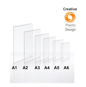 Clear Plastic Perspex Acrylic Plexiglass Cut Sheet A1 A2 A3 A4 A5 A6 2mm to 5mm