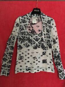 Sweater Virgin Åbning 100 Hals Sexy Fuzzi Italien Cowl Top M Kvinders Uld Sz qgEHwB