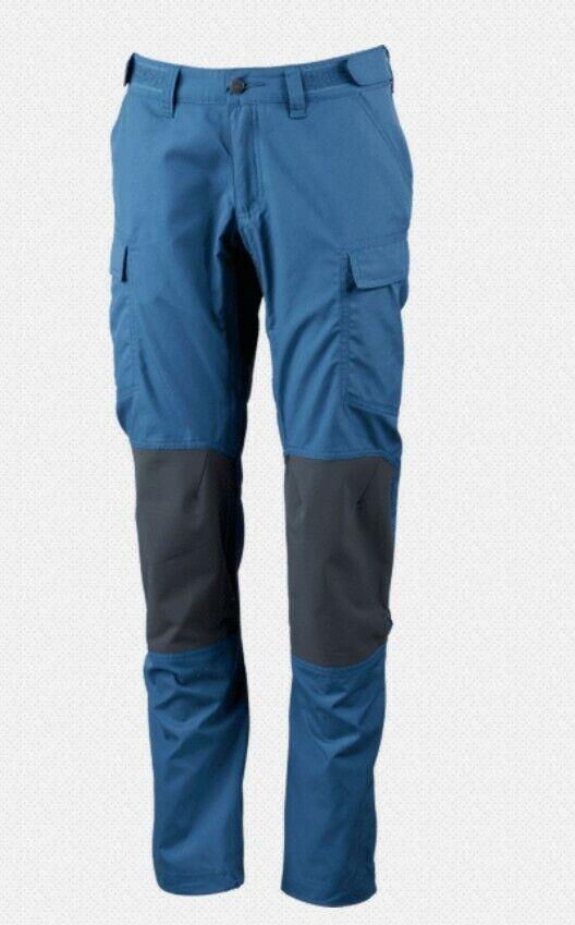 Lundhags Vanner Pantalones Mujer Azure Granite Ligero Elástico