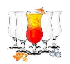 6 Stück Cocktailgläser 480ml 9 Varianten Hurricane Longdrinkgläser Bargläser