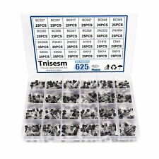 Tnisesm 625pcs 24 Values Npn Pnp Power General Purpose Transistors Assortment