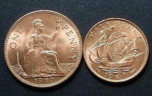 Half penny 1967