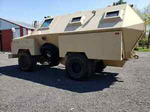 Fully Armored Doomsday  Bug Out Vehicle or highwater Rescue