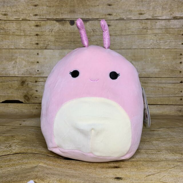 Kellytoy Squishmallow Silvina the Snail RARE and Hard to Find 8 inch NEW
