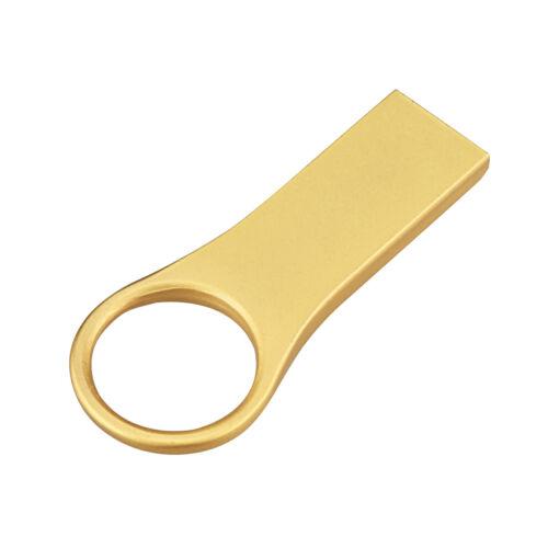 32GB USB 2.0 Flash Drive Waterproof Memory Stick Metal Thumb Pen Drive Storage