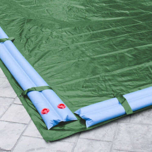 Meadow Green 18/' x 36/' Rectangle In-Ground Swimming Pool Winter Cover 20 Year