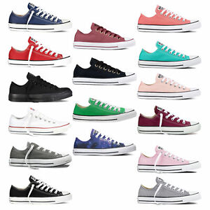 Converse-Chuck-Taylor-All-Star-Ox-Sneaker-da-Donna-Scarpe-Ginnastica-Basse