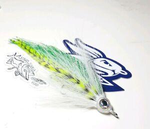 7 Inch War Machine Minnow Streamer Fly Bass Musky Pike Fishing USA Tied Flies