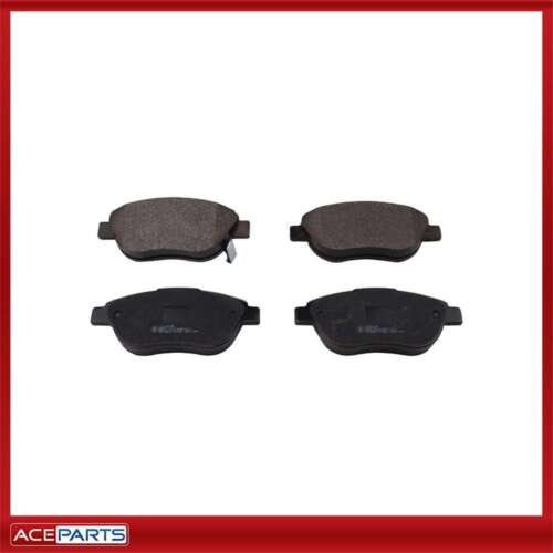 Fits Opel Corsa D 1.3 CDTI EuroBrake Front Vented Brake Disc /& Pad Kit Set