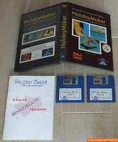 ~ HOLIDAY MAKER ~ Commodore Amiga / Originalverpackung ~ BIG boxed ~ deutsch