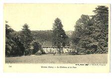 CPA 39 Jura Gizia le Château et le Parc