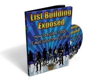 Details about How To Build A 10,000 Email Subscriber List Fast - Make  Autopilot Profits (CD)