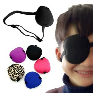 Medical-Concave-Eye-Patch-Foam-Groove-Washable-Eyeshades-for-Strap-Q-amp