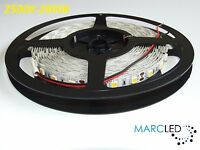 12vdc Smd5050 Led Strip 2500k-2800k, 5m (72w, 300leds), Ip20, 60leds/m, 14.4w/m