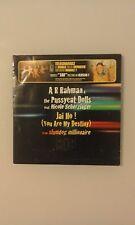 A R RAHMAN THE PUSSYCAT DOLLS  - JAI HO - CD 2 TRACKS CARDSLEEVE