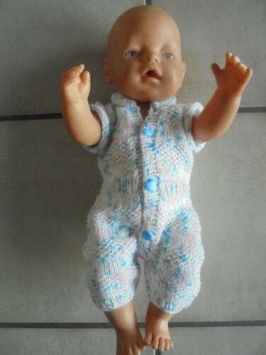 Kurzer Anzug für Puppen Kleidung & Accessoires passt der Baby Born neu