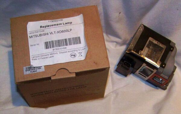 Zelfverzekerd Mitsubishi Replacement Lamp Vlt-xd600lp New In Box Free Shipping