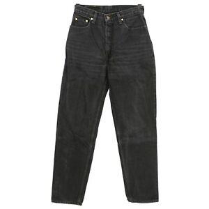 4868-LEVIS-Damen-Jeans-Hose-881-0285-Denim-ohne-Stretch-black-schwarz-32-32