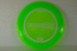 Nuke-OS-1st-Run-174g-Green-Collectible-Elite-Z-NEW-Discraft-PRIME-Disc-Golf