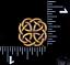 10PC VINTAGE BRASS CELTIC KNOT LEATHERCRAFT WESTERN SADDLE SPUR STRAPS CONCHOS