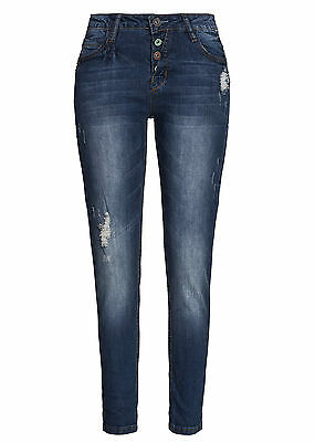 50% OFF B15120407 Damen Eight2Nine Hose Jeans tief.Schritt Urban Surface blau | eBay