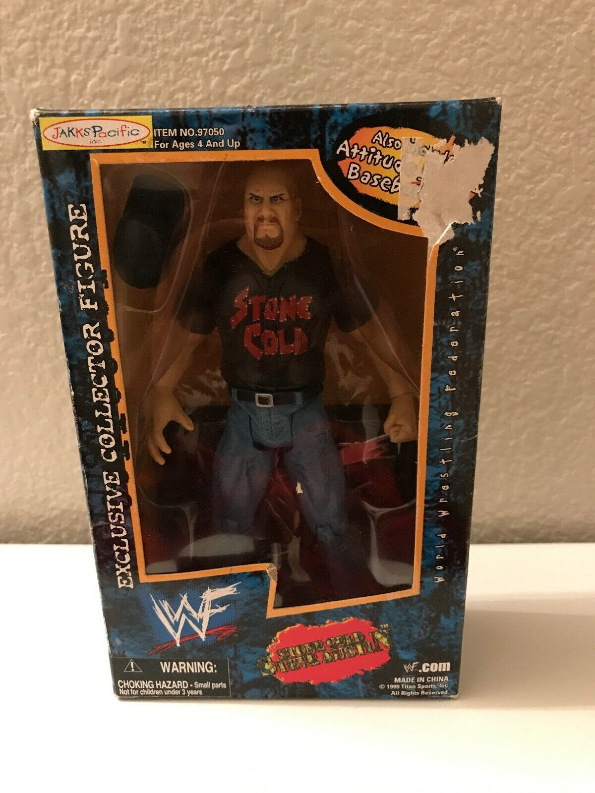 Stone Cold Steve Austin WWE WWF Exclusive Collectors Figure