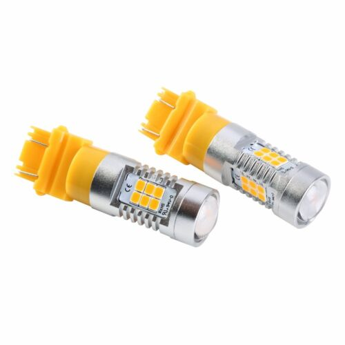 JDM ASTAR 2x 21-SMD Turn Signal Blinker Brake Stop Tail LED Bulbs Lights Bright