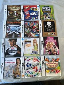 Nintendo-DS-Video-Game-Manuals-Lot-Of-12-LOT-2