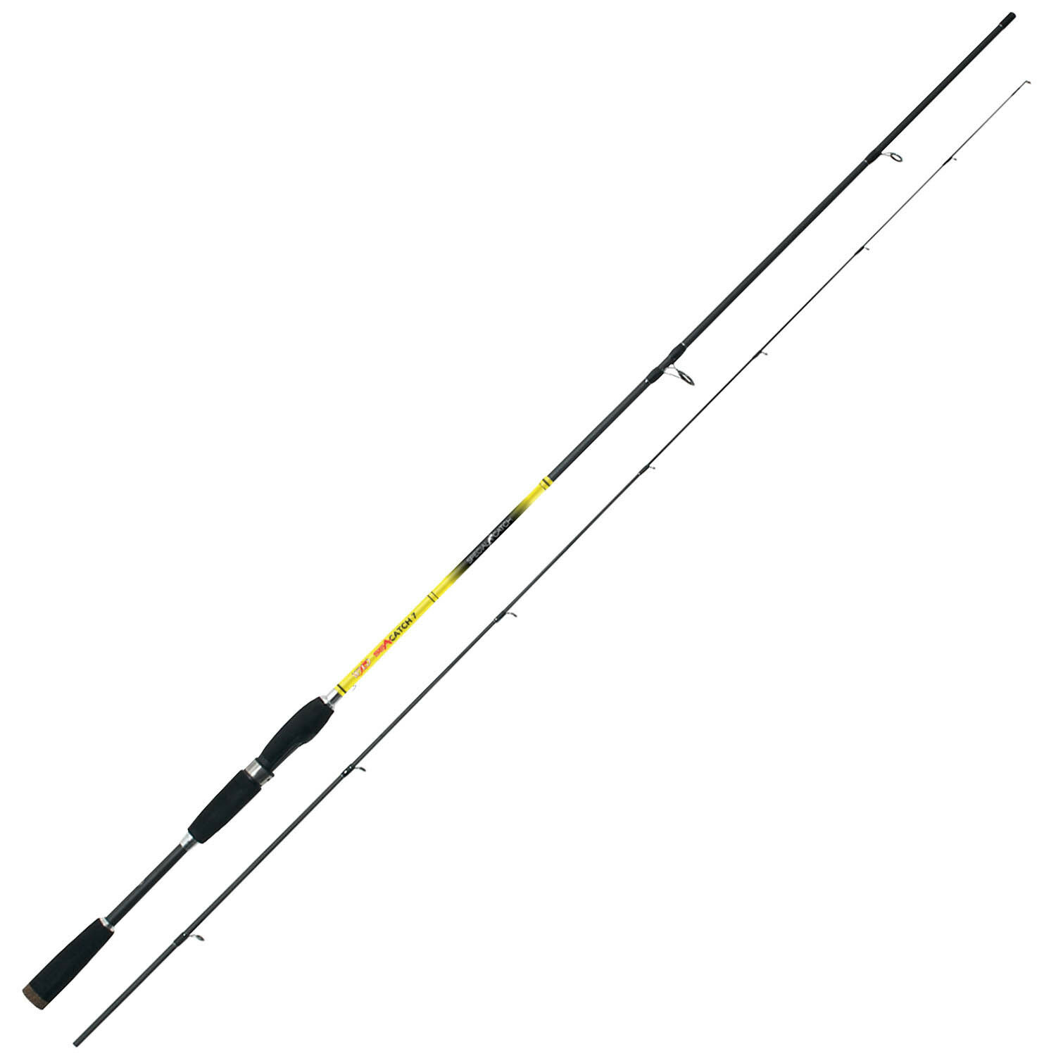 D0900236 Canna Pesca Spinning Falcon Wild Sea Catch 2,13 m 3-15 Gr  CAS