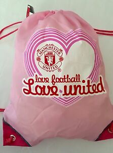 906fd1ebc Image is loading New-Official-Manchester-United-Girls-Ladies-Pink-Official-