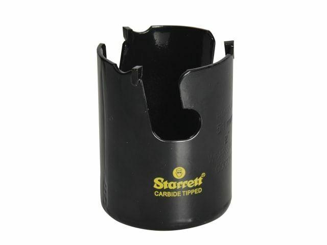 Starrett - Scie trépan multi-usage coupe rapide TCT MPH0296 65mm