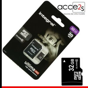 Carte-Memoire-Micro-SD-32-Go-classe-10-Pour-Samsung-Galaxy-TREND-S7560
