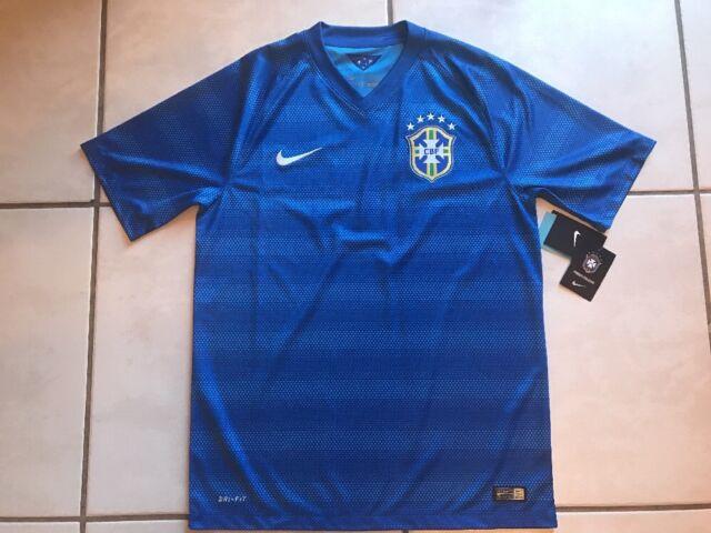 Buy Authentic Nike Dri Fit CBF Brazil National Soccer Team Jersey ... a76c92185b07