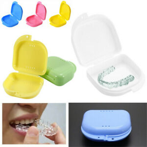Gebiss-Aufbewahrungsbox-Mundschutzbehaelter-Hosentraeger-Fall-Mundhygiene
