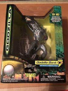 Electronic Godzilla Bank with Brutal Automatic Attack Action