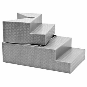 Deluxe-Gray-Breakable-Ring-Stairs-For-WWE-Wrestling-Action-Figures