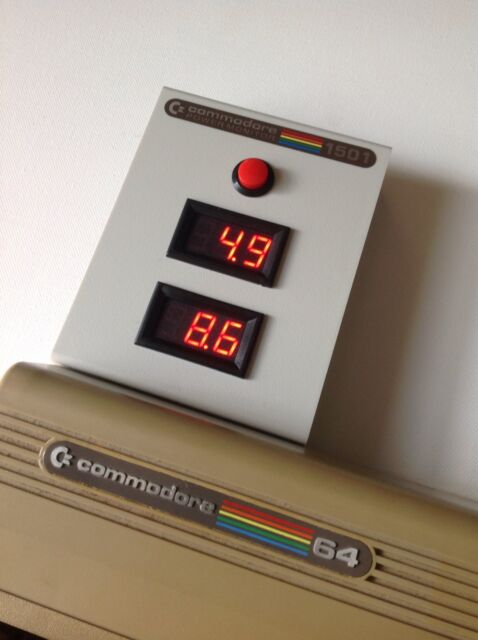 Commodore 64 Power Monitor - C64 VIC20 C128 Plus4