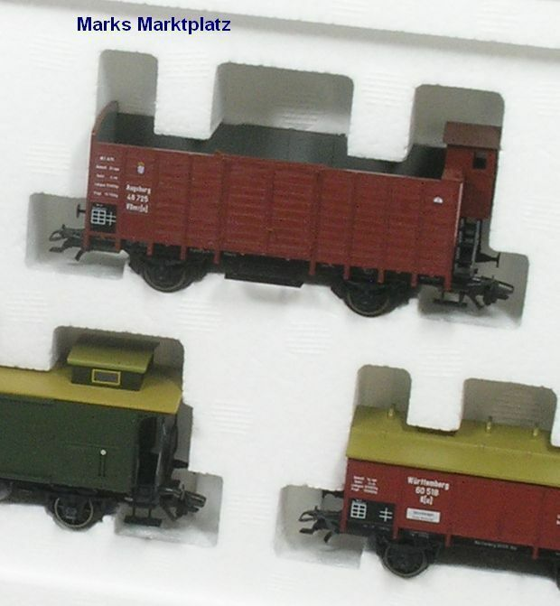 H0 6tlg. carri merci Set Geislinger sali Märklin 45102 NUOVO OVP