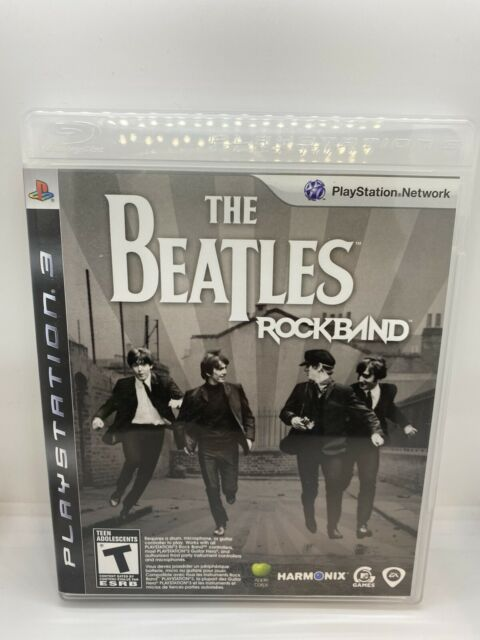 The Beatles Rockband PlayStation 3 PS3 Complete