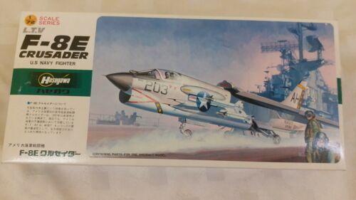 Hasegawa 1:72 L.T.V F-8E CRUSADER US Navy Fighter Model Kit 17 JS146 SEALED BAG