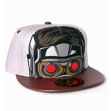 OFFICIAL GUARDIANS OF THE GALAXY VOL. 2 - STAR LORD FACE SNAPBACK CAP (NEW)