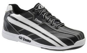 Mens Dexter JACK Bowling Shoes Color Black & White Size 8