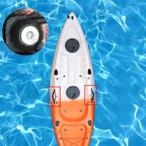 10pcs De Line Guide Round Outfitting per barche Canoa Kayak Accessori