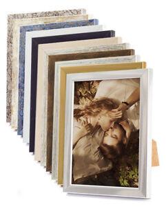 holz bilderrahmen foto bild 9x13 10x15 13x18 15x21 18x24 24x30 30x40 a5 a4 a3 ebay. Black Bedroom Furniture Sets. Home Design Ideas