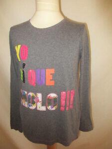 T-shirt-Desigual-Gris-Taille-12-ans-a-48