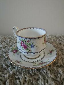 Royal Albert Bone China Mosaic Tea Cup Set