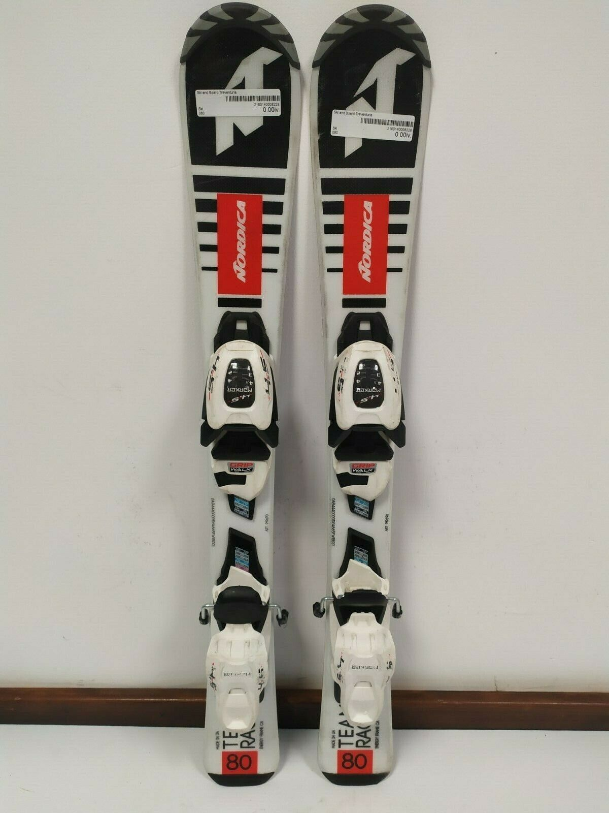 Nordica Team Race 80 cm Ski + Marker 4.5 Bindings