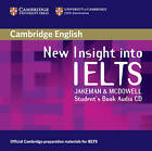 New Insight into IELTS Student's Book Audio CD by Clare McDowell, Vanessa Jakeman (CD-Audio, 2008)